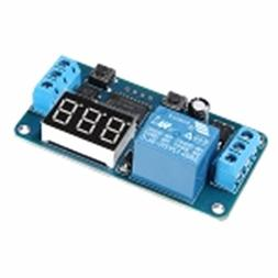 INSMA DC 12V LED Display Digital Delay Timer Control Switch