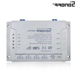 ITEAD SONOFF 4CH Pro R2 4 Way Channel Din Rail Mount <font><