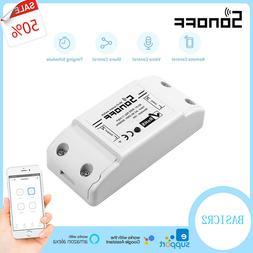 Sonoff ITEAD Smart Home WiFi Wireless Switch Module Fr Apple