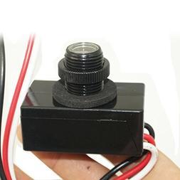 JL-103A Photocell Sensor AC 120V LED Daylight Dusk To Dawn S