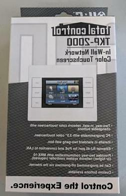 JO URC Total Control TKP-2000 In-Wall Network Color Touchscr