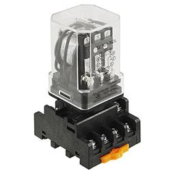 TOOGOO JQX-10F-3Z DC 12V Coil Voltage 3PDT Power Relay 10A w