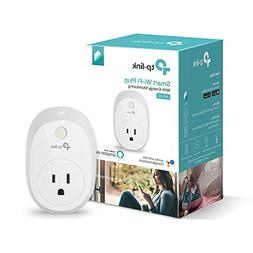Kasa Smart Wi-Fi Plug w/Energy Monitoring by TP-Link - Contr