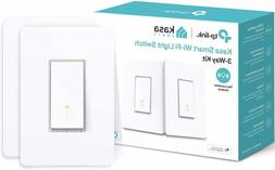 Kasa Smart WiFi Light Switch TP-Link 3-Way No Hub Required A