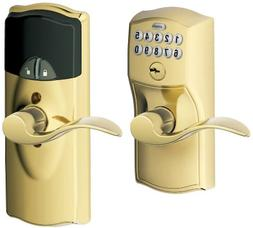 Keypad Door Lock With Deadbolt Exterior Indoor Schlage Home