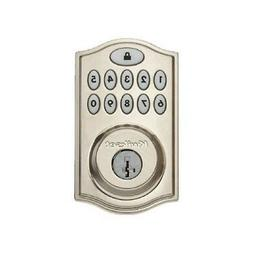 kSmartcodes 969 Touchpads Electronic Deadbolt Satin Nickel