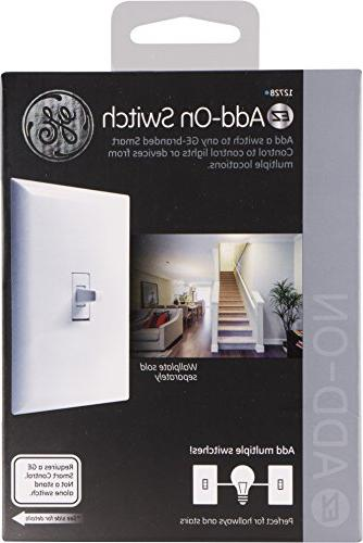 GE Toggle Style Switch for Z-Wave, GE GE Wireless Lighting Controls, A STANDALONE SWITCH, Works with