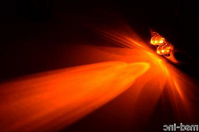 12v 2 x 4 led pod orange