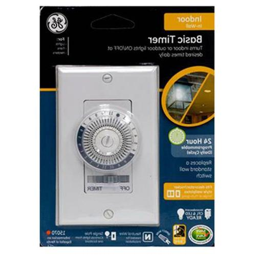 15325 indoor wall timer