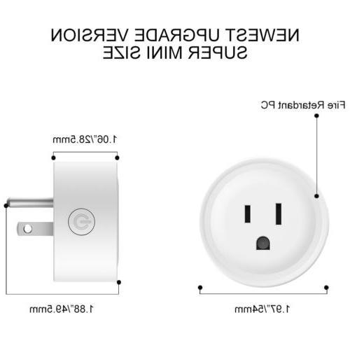 2 Smart Plug Power Socket Timer