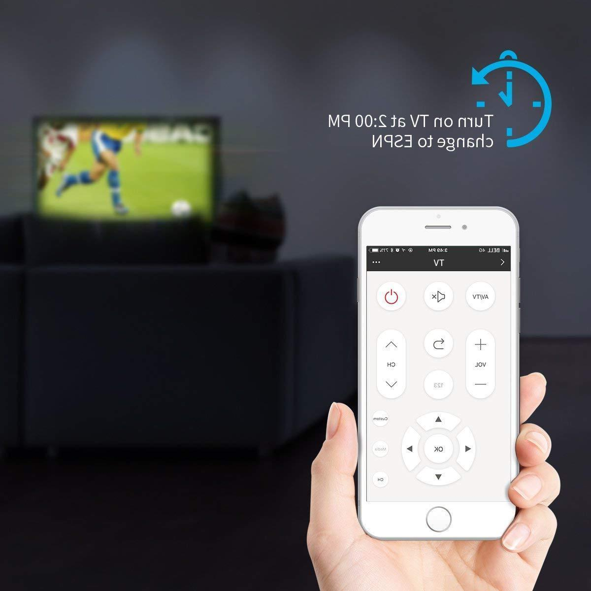 2018 New Broadlink Black Universal Remote Wi-Fi IR