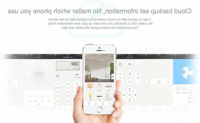 2018 RM Pro+ RM03, Smart Home Automation WIFI+IR+RF