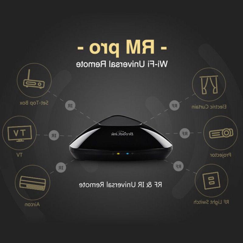 2018 Version Broadlink RM Pro+ Smart Home Automation WIFI+IR+RF EU