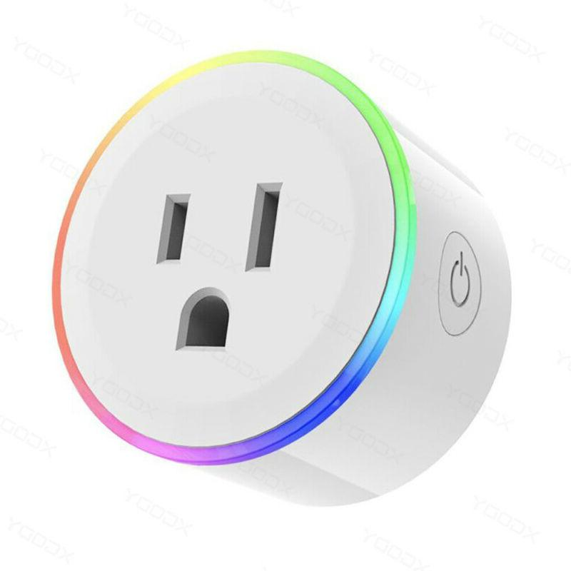 2X WiFi Outlet Control Timer Switch Alexa Google Plug