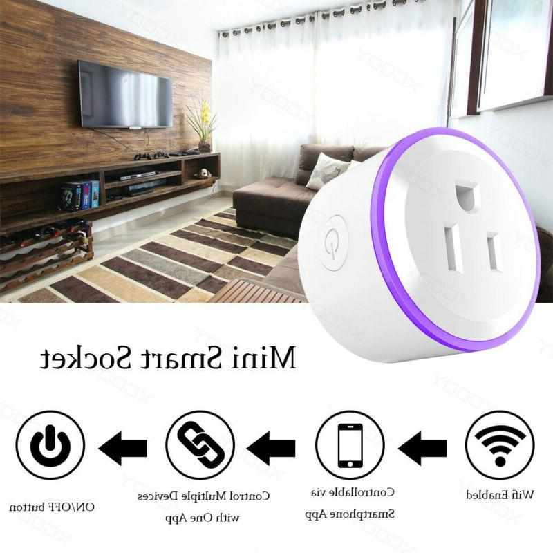2X Smart Outlet Remote Control Switch Alexa Home Plug