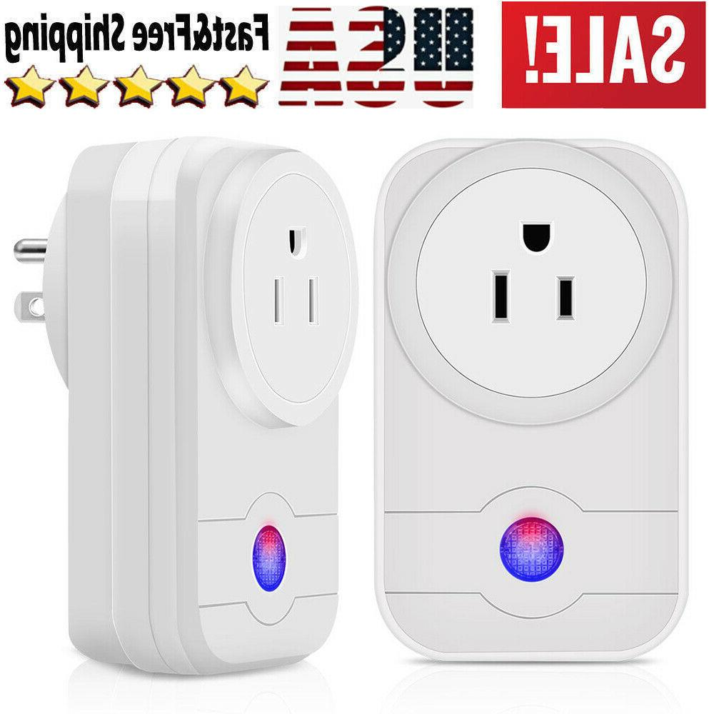 2x wifi outlet compatible with alexa