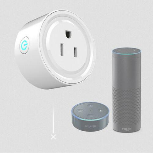 2x Smart Outlet Remote Socket with &