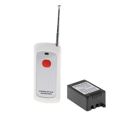 New Wireless RF Controller Switch Transmitter DC 12V 10A Hom