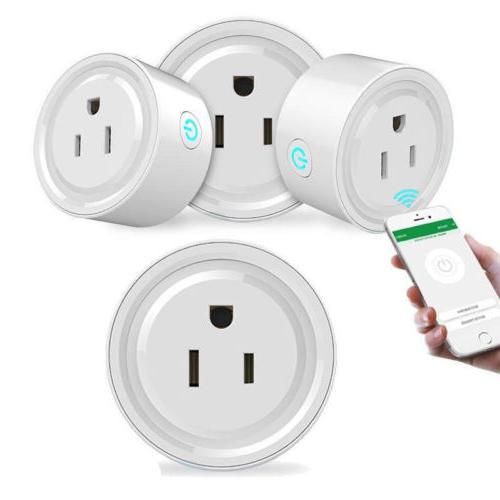 4 pack smart wi fi mini outlet