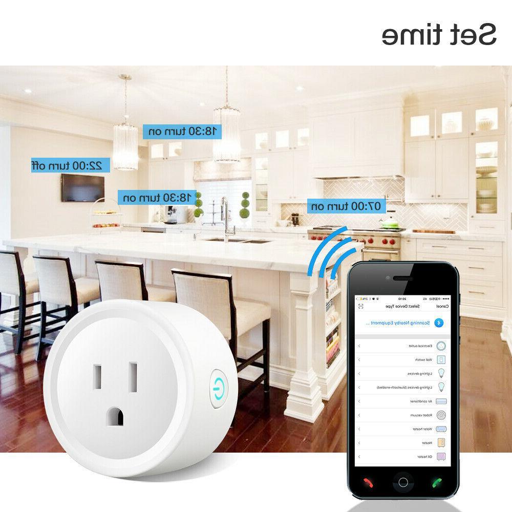 4 Plug Remote Google Home