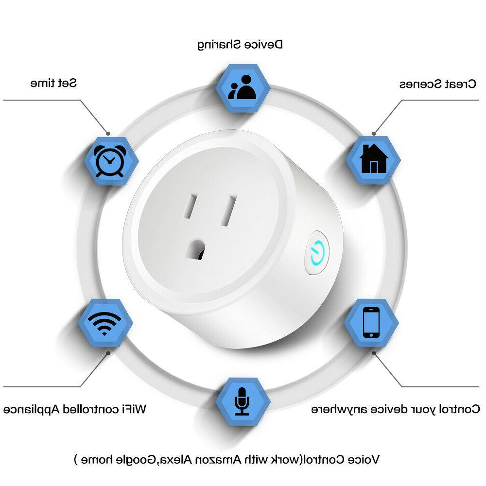 Plug Control Outlet Switch Echo Google Home