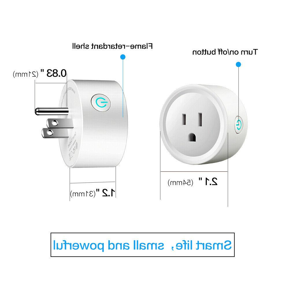 4 Plug Remote Control Outlet Switch Echo Google