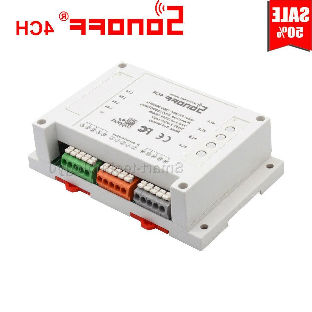 Sonoff 4CH/4CH R2 Remote Ctrl Smart Switch