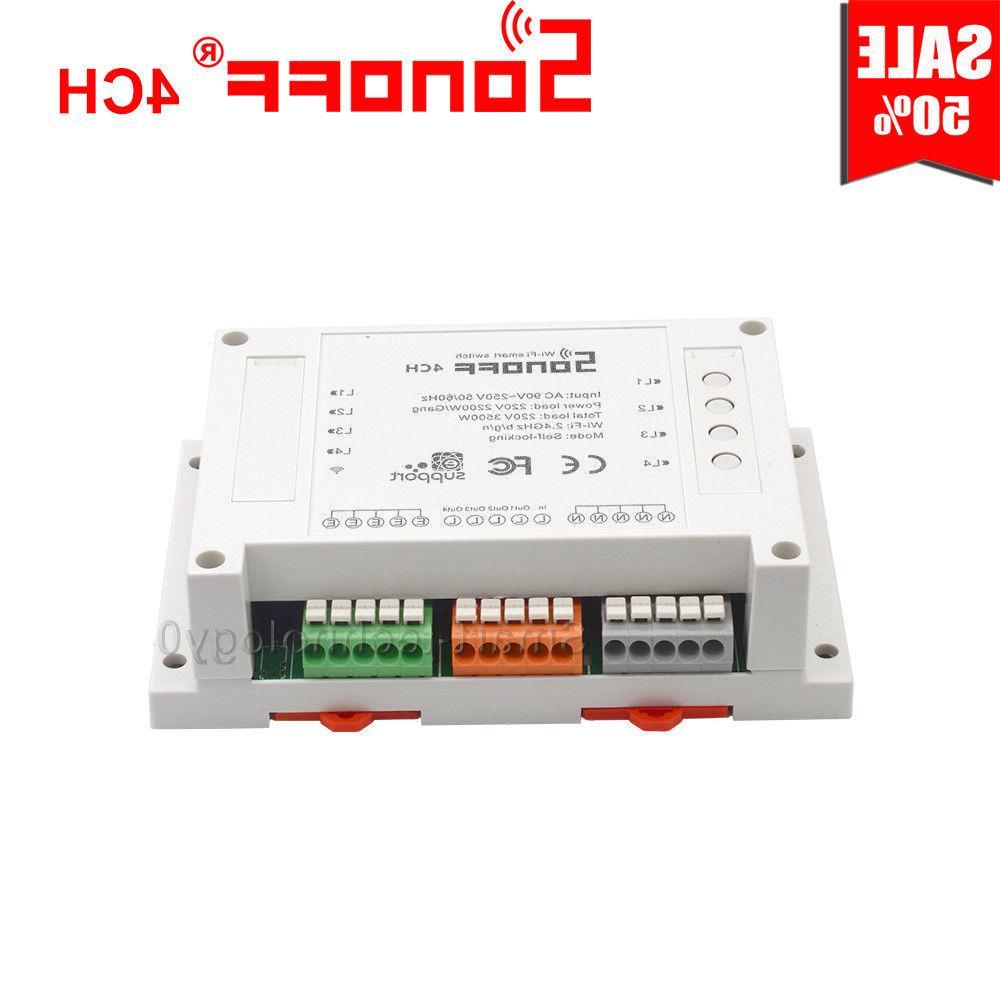 Sonoff 4CH/4CH Remote Ctrl WiFI Switch