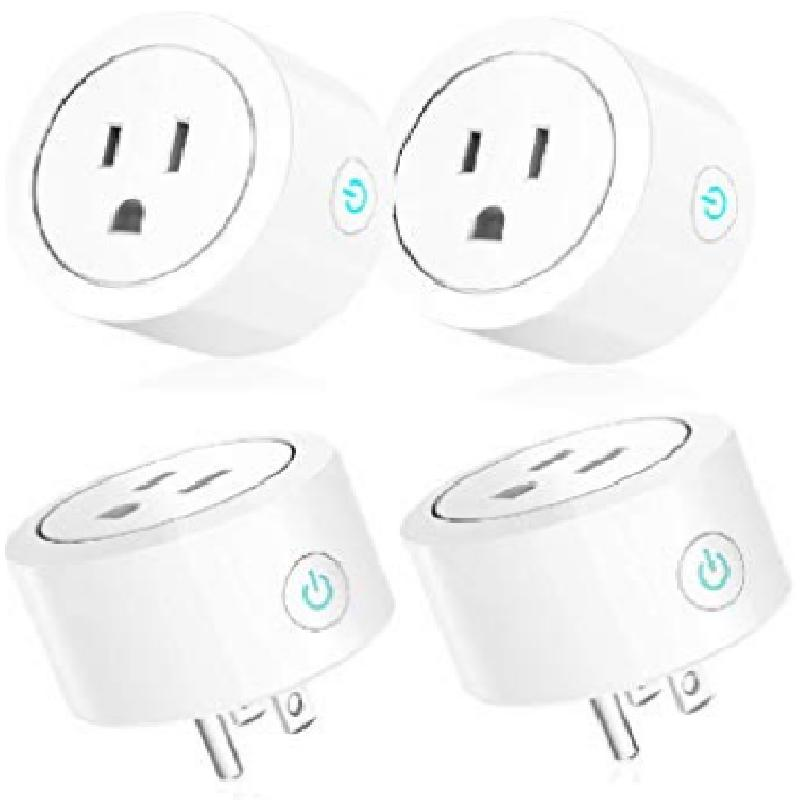 4pack smart plug wifi home outlet