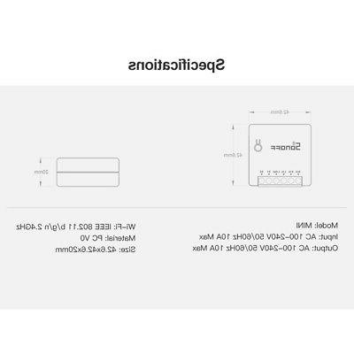 5*SONOFF Mini Two Intelligent Appliance