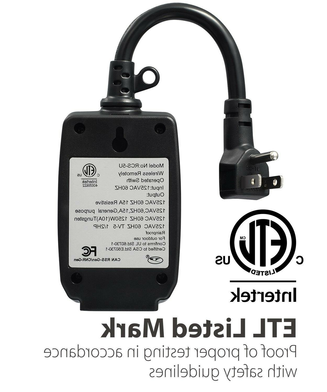 98FT Wireless Control Switch