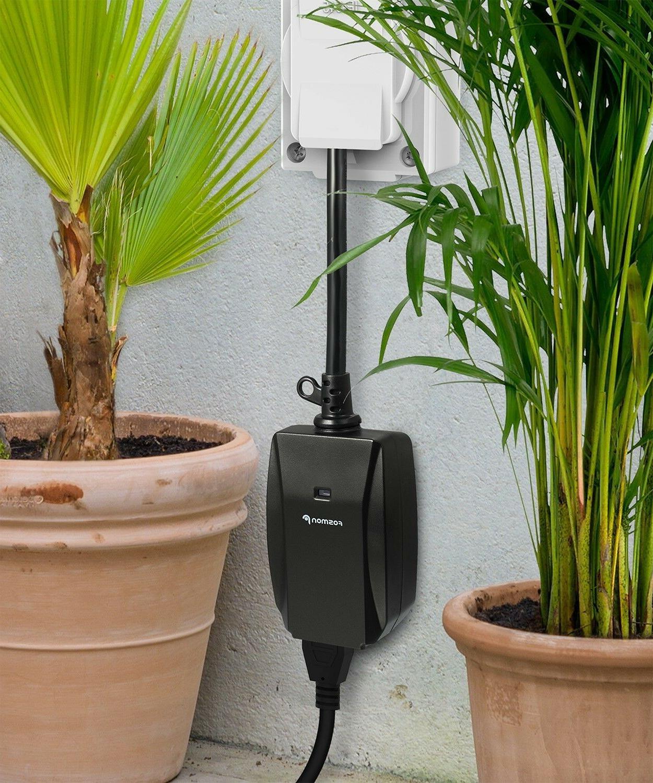 98FT Waterproof Wireless Outlet Switch Plug In