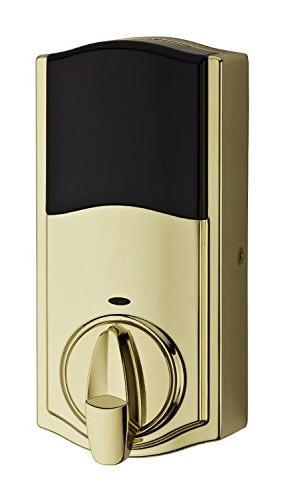 Kwikset 99140-007 Smartcode Zigbee Plus Xfinity Touchpad Lock, with Brass