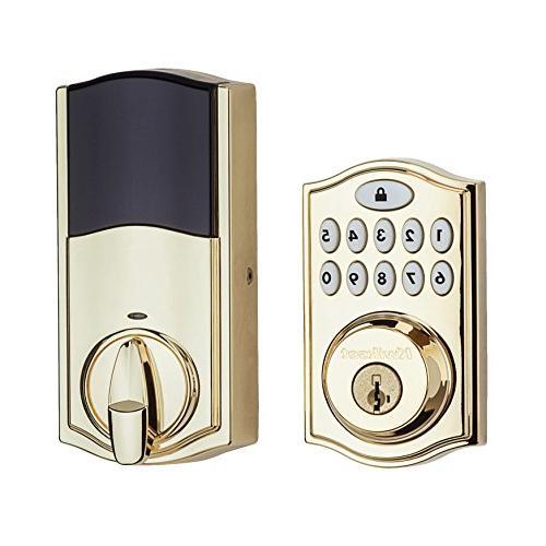 Kwikset 99140-007 Smartcode Zigbee Plus and Xfinity Lock, Alexa, Featuring in Brass