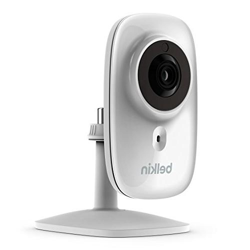 Belkin NetCam HD+ enabled works WeMo, includes Night Vision, All Glass Wide Filter