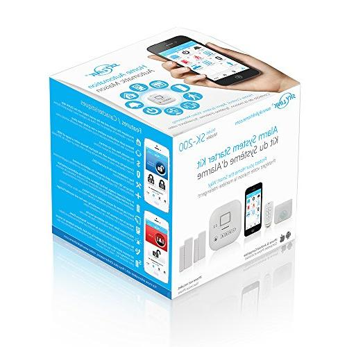 SK-200 SkylinkNet Alarm Security Home Automation iOS iPhone Compatible with