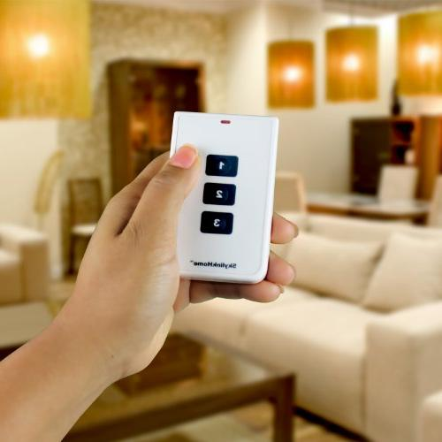 SkylinkHome TC-318-3 Button Wireless Lighting Remote | Simple To Home Handheld