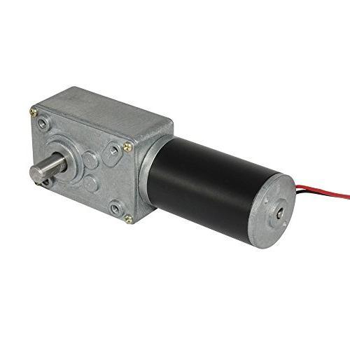 TSINY Small DC Motor High Torque 12 Volt Reversible 3.5 RPM