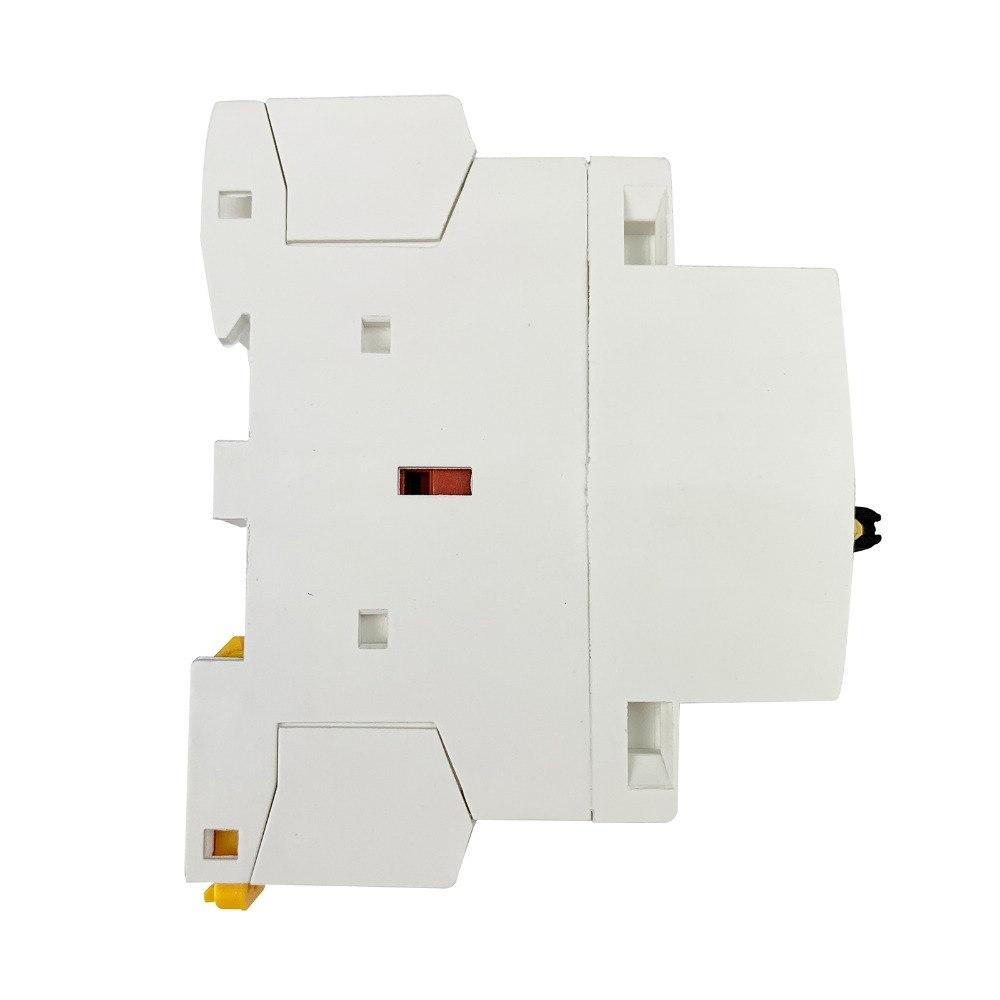 AC Contactor Modular With Manual Control Switch DIN 2NO 220V/230V 50/60HZ For DIY Smart <font><b>Automation</b></font>