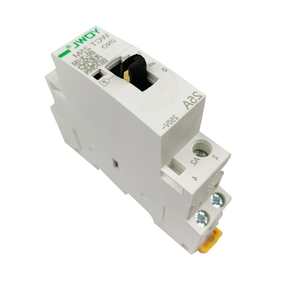 AC With Manual Switch DIN Mount 2P For DIY Smart <font><b>Automation</b></font>