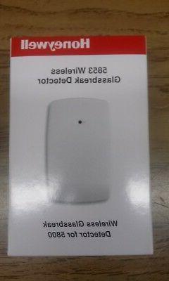 Ademco Honeywell 5853 WIRELESS Glass break detector. New. Fr