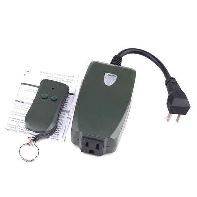 Remote Control Outlet Wireless AC Power Electrical Light Swi