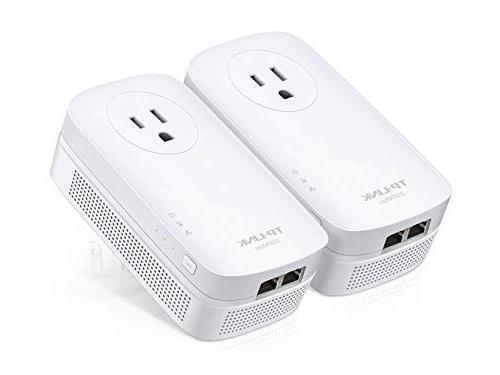TP-Link AV2000 Ethernet 2-Port GHz Kit | PA9020P