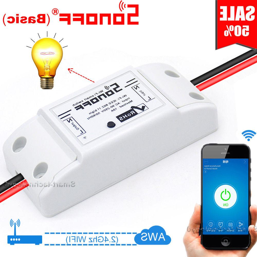 basic smart home wifi wireless switch module
