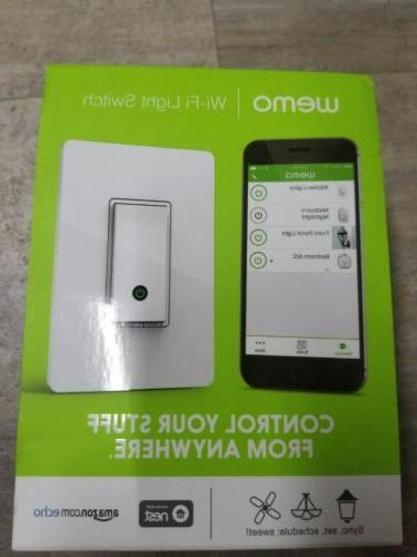brand new sealed light switch wifi enabled