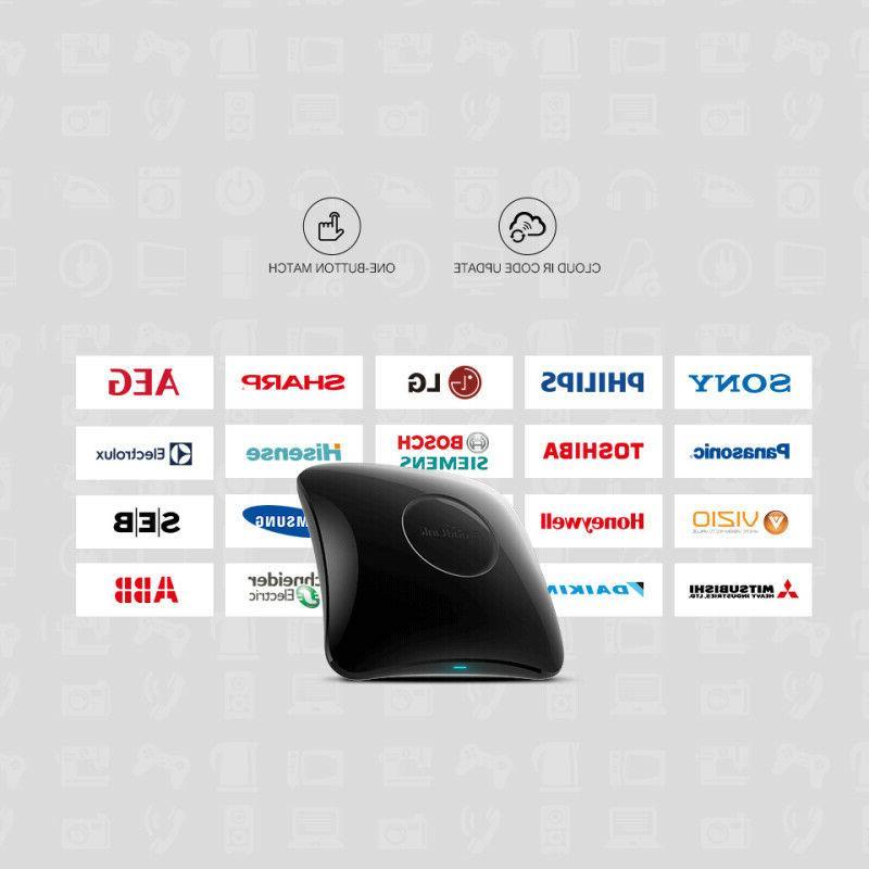 Black Broadlink RM Pro Smart Home Automation Universal Wifi