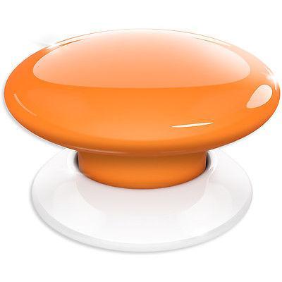 Fibaro The Button Z-Wave Scene Controller, Orange