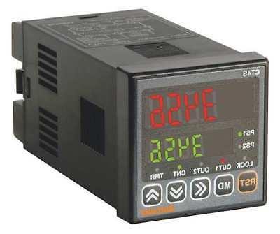 AUTONICS CT4S-2P4 LED Counter/Timer, Digital4, AC Power