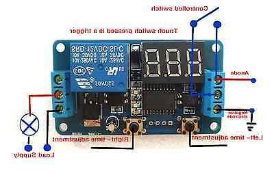 DC 12V Display Switch Module Automation