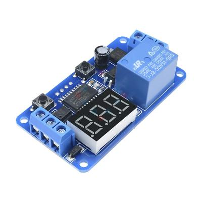 dc 12v led display digital delay timer